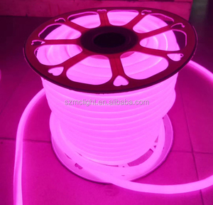 outdoor sign strip 360 degree round 16mm lighting led neon sign pink