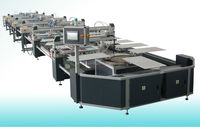Oval automatic rotary screen print machine