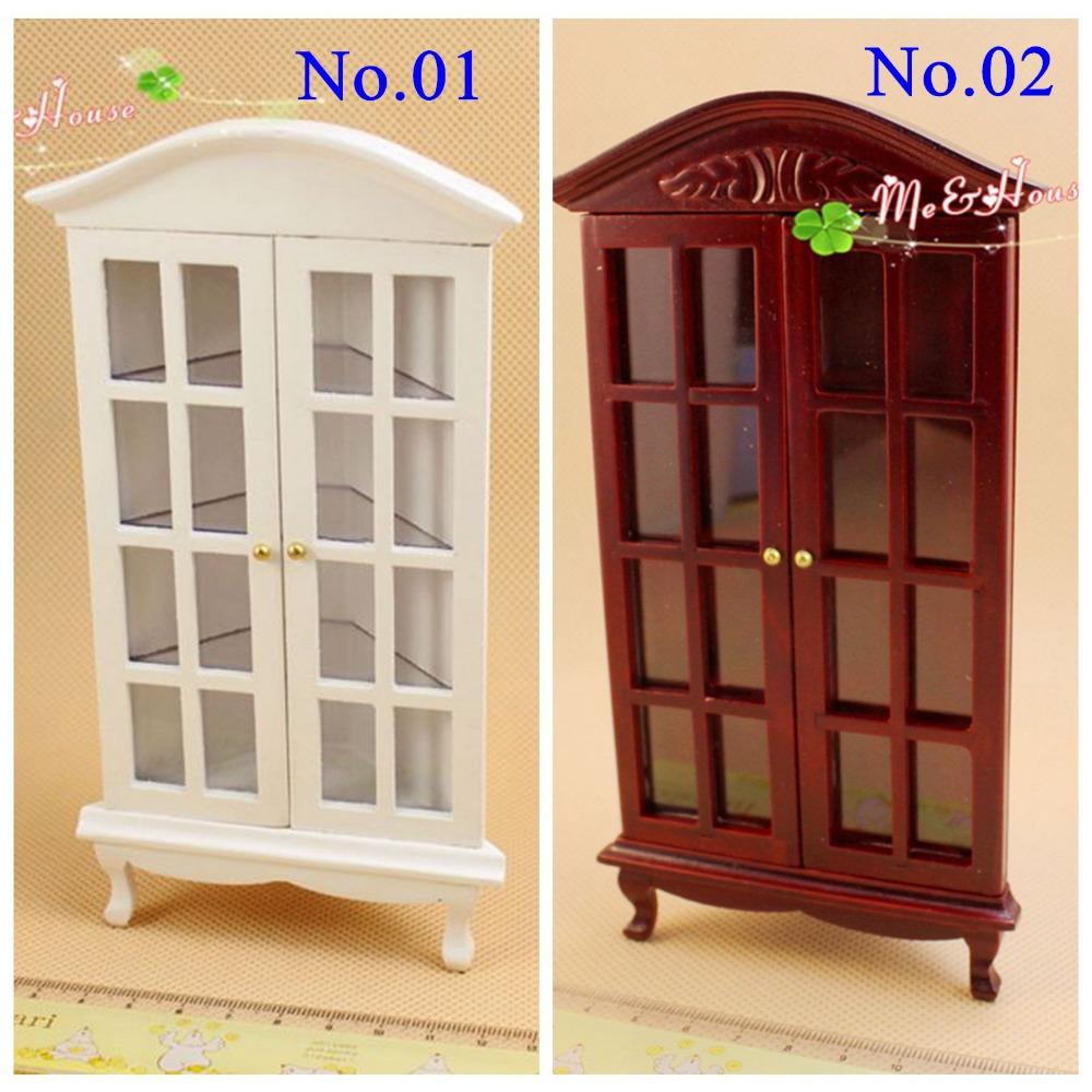 1:12 Dollhouse Miniatures Gradevin Corner China Cabinet