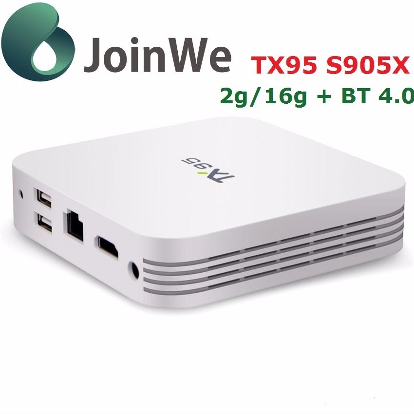 TX95 desi tv box s905x BT 4.1 2 GB de Ram 16 GB Rom Android 6.0 TV Box TX95