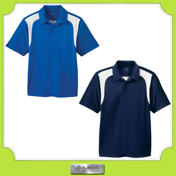 Custom Men Plain Collar Sport Polo T Shirt For Printing