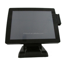 12/15/17 Inch Discounted Factory Supply true flat touch screen monitor touch retail pos system/pos terminal for restaurant