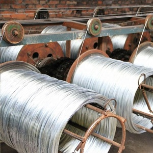 Hot rolled gi wire 6mm galvanized steel rod coil
