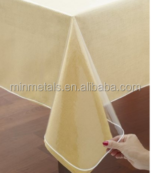 Clear Vinyl Tablecloth Protector Buy Clear Table Protector Table