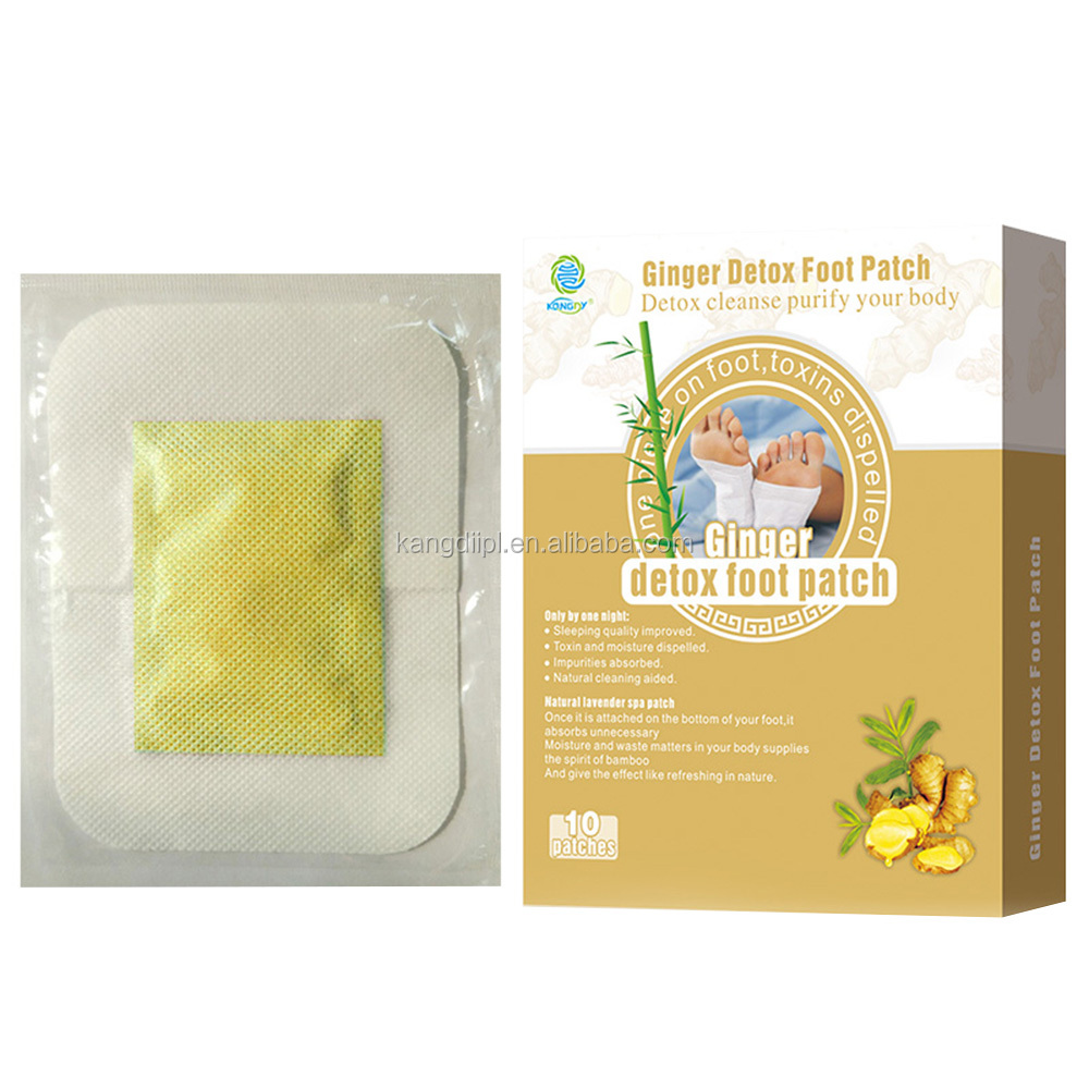New products 2017 factory Health and Beauty bamboo detox foot patch