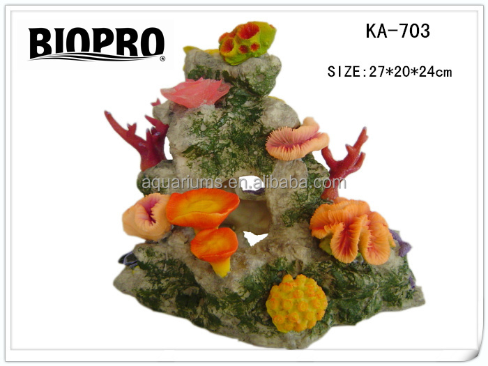 BIOPRO brand aquarium ornaments imitation coral reef decoration suitable for salt water and freshwater aquarium