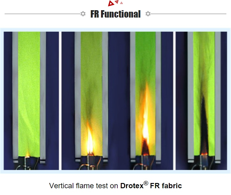 Wholesale FR Viscose Aramid  Fire Resistant Fabric