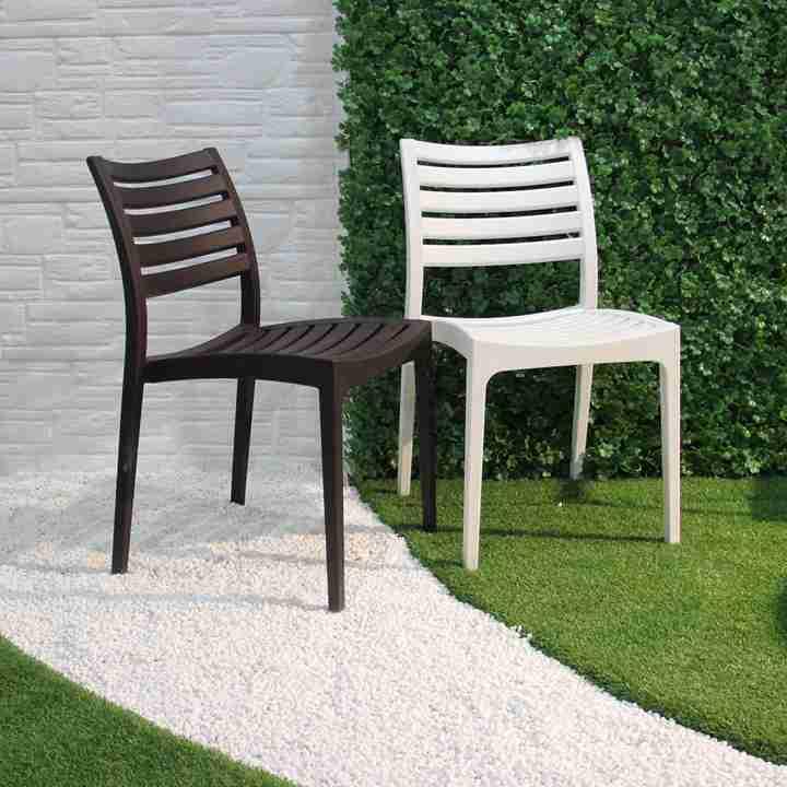 2018 ปีสไตล์ตุรกีเฟอร์นิเจอร์สวนกลางแจ้งเก้าอี้พลาสติกใช้เฟอร์นิเจอร์ Patio