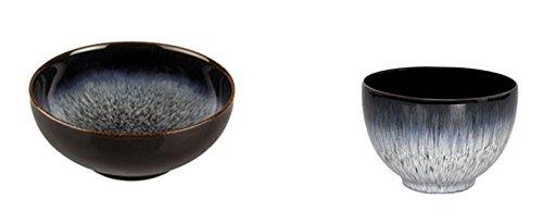 Denby Halo Cereal Bowl and Deep Noodle Bowl, Set of 8