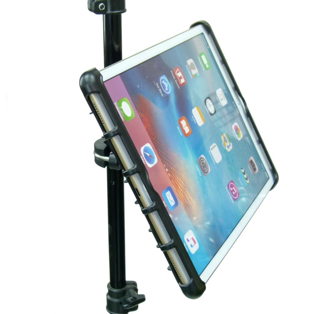 BuyBits Semi Permanent Music / Microphone / Gig Stand Holder Mount for Apple iPad PRO