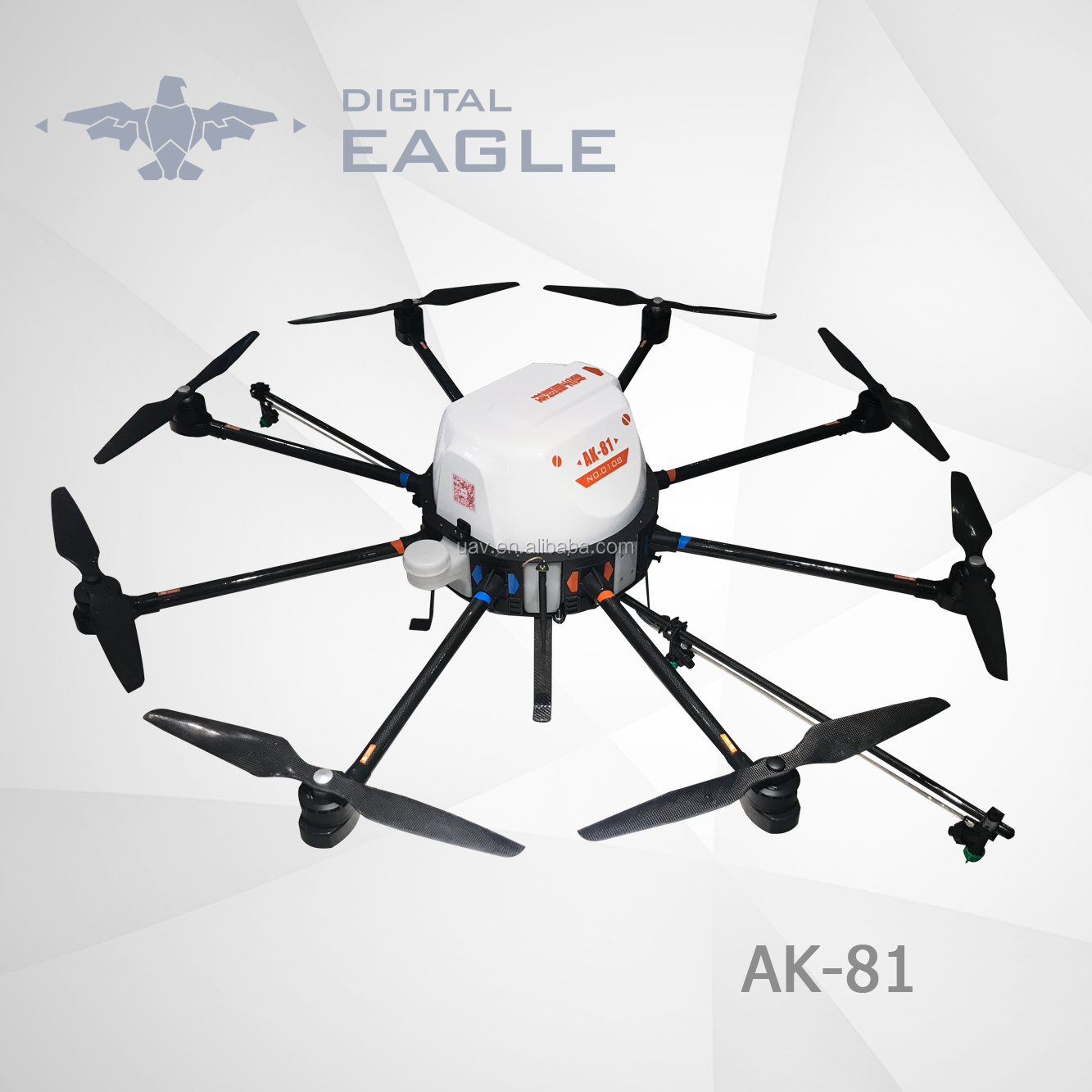 De Ak-81 15l Drone High Power With Gps Automatic Programming Agriculture  Drone Price Crop Uav Sprayer - Buy De Ak-81 15l Drone High Power With