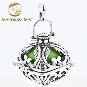 Harmony ball charm pendant cage silver harmony bali ball pendant harmony ball charm pendant cage silver harmony bali ball pendant 22mm aloadofball Images