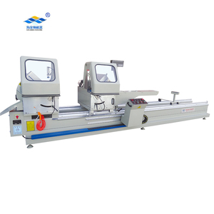 Aluminum window door fabrication machine Double head precision cutting machine