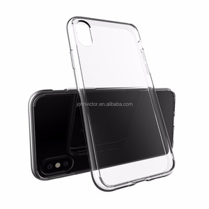 Clear Transparent Soft TPU Silicon Silicone Rubber Phone Bags Cases Cover Coque Fundas Capinhas Case for iPhone 8 Case