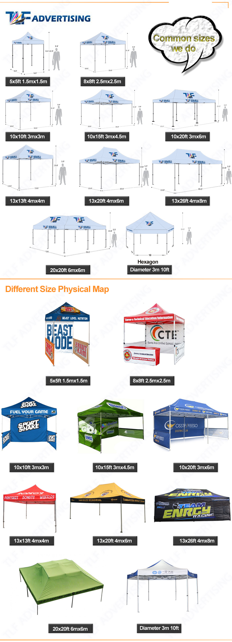 Promotional price canopy tent for 10x15 canopy tent for 10x10 canopy tent 3x3