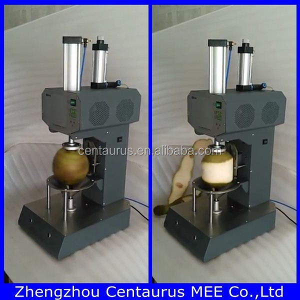 Automatic Young Coconut Peeling Machine Coconut Cutting