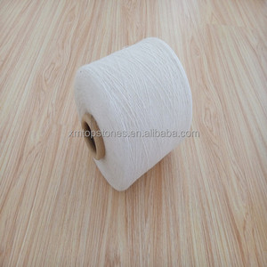 Cheap 21s polypropylene yarn white PP spun yarn