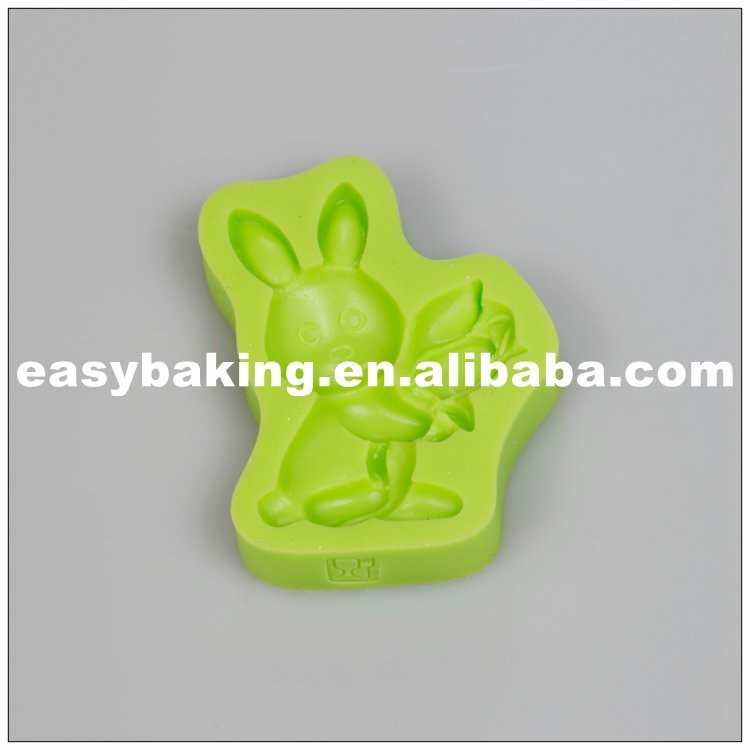 es-0102_Easter Bunny With Tulips Cake Decoration Silicone Sugarpaste Mold_9156.jpg