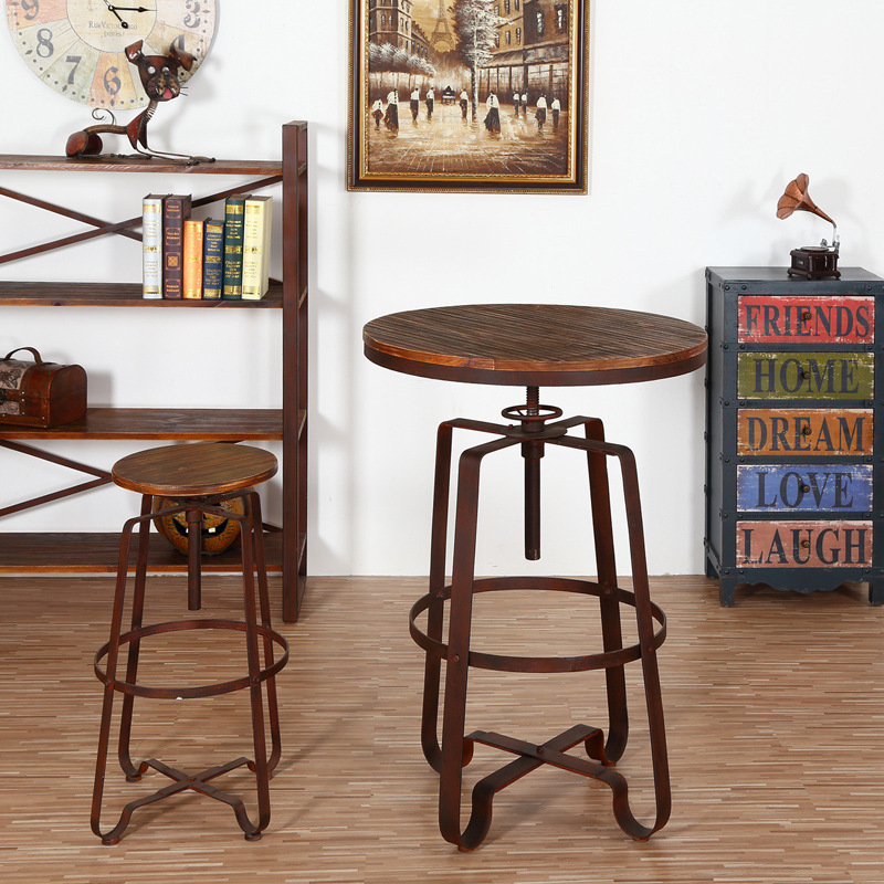 Wrought Iron Balcony Small Round Table And Chairs
