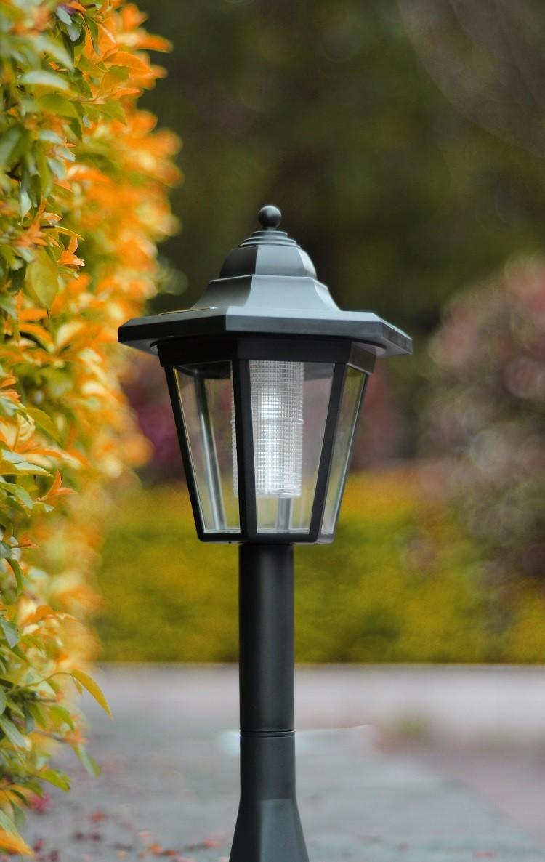 Outdoor Pillar Lights Hot Selling Decorative Solar Pillar Lamp For Garden