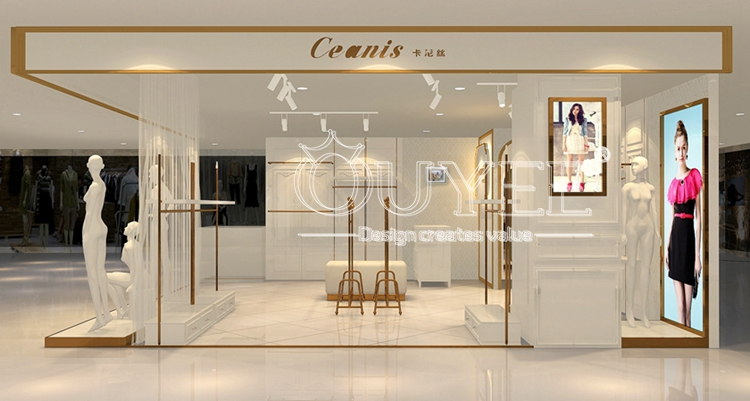 0e95d4c52 Fashion Style Women Clothes Display Furniture,Modern Women's Clothing Shop  Interior Design