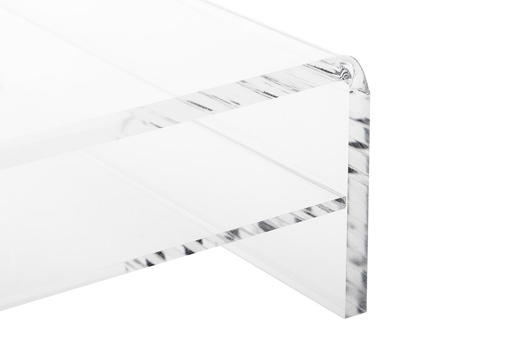 Large Low Profile Riser 3pcs Set in Clear Acrylic