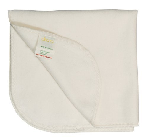 e1720f2836adf Get Quotations · Disana 100% Organic Brushed Cotton Liners 40 X 40 Cm Made  in Germany Pack of