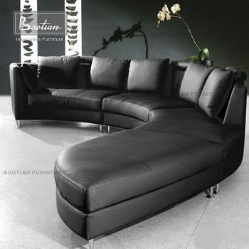 Pleasant Modern Half Round Leather Corner Sofa For Home Buy Corner Sofa 2016 Best Selling Sofa Home Furniture Modern Product On Alibaba Com Cjindustries Chair Design For Home Cjindustriesco
