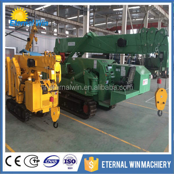 small price mini spider crane exporting to many countries