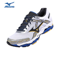 MIZUNO Sports Sneakers Men s Shoes WAVE ENIGMA 4 SR TOUCH Cushioning Mesh Breathable Jogging Running