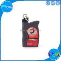 Soft pvc oil can shape usb storage device 8gb series c usb flash drive