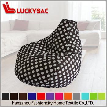Child Bean Bag Water Drop Shape Sofa Chairs Wholesale