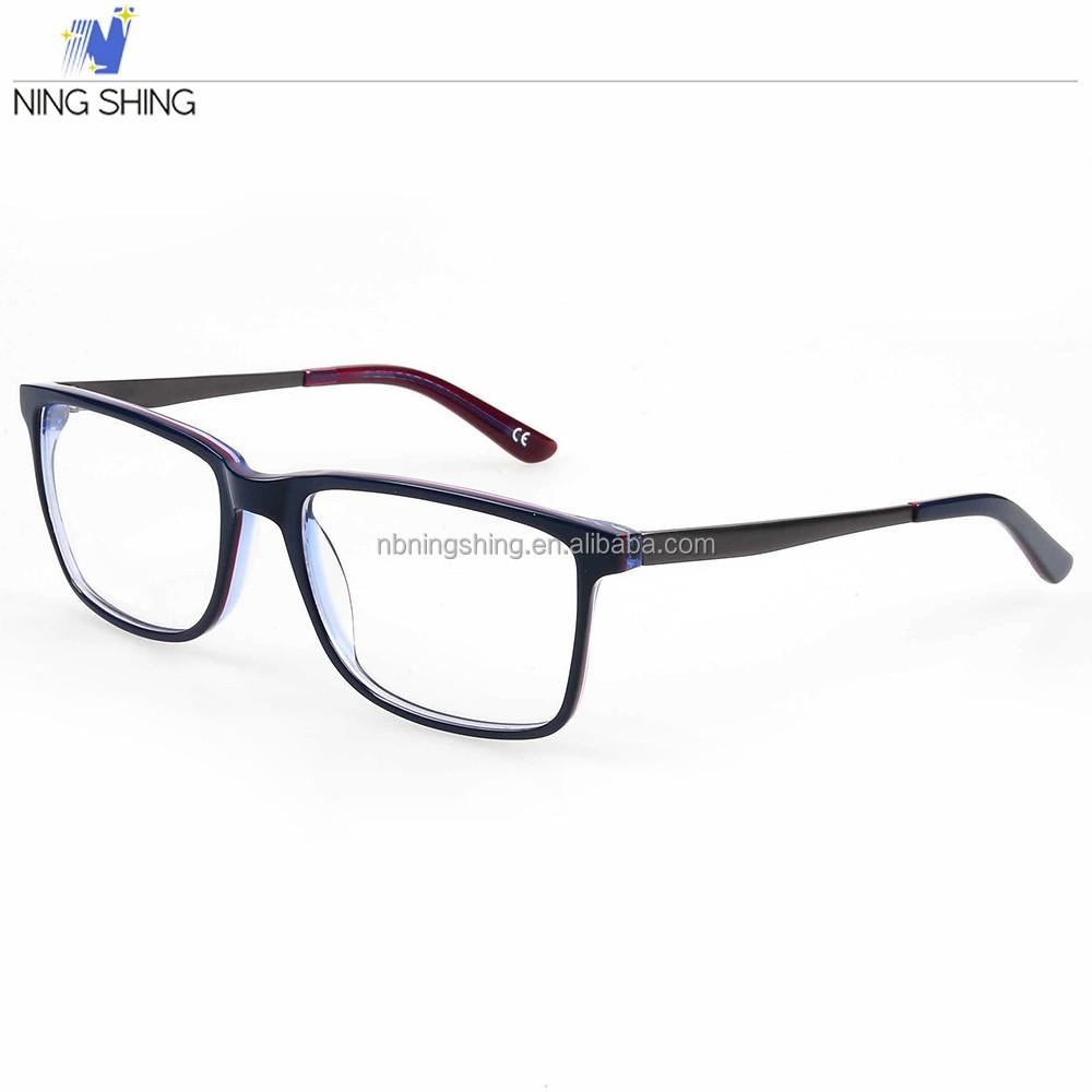 66fdf5ac8d Venta caliente Personalizable Ningshing Barato Tony Morgan Gafas Ópticas  Marcos Al Por Mayor Fabricantes En China