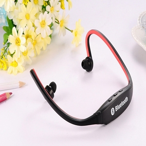 Sport Wireless Waterproof Headset Blue tooth Earphone S9 FM SD Card Slot Blue tooth with sports running Microphone Headphones