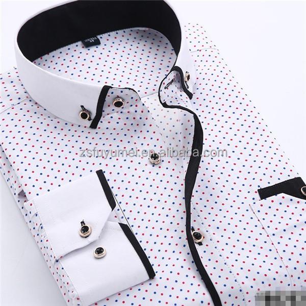 bb5dcb18b817 Italian Double Collar Cotton Men Dress Shirt - Buy Latest High ...