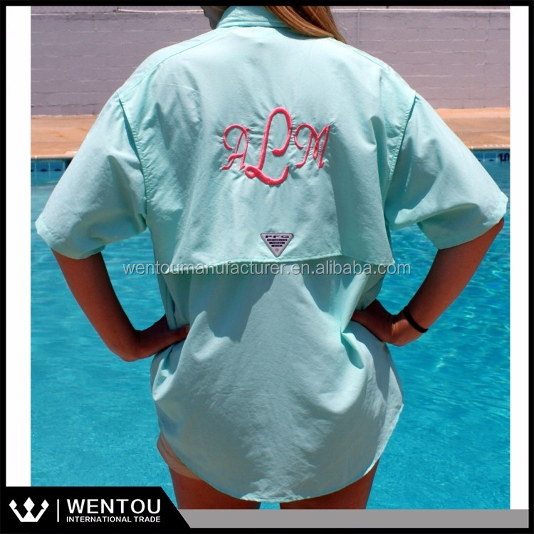 Wholesale personlized short sleeve monogrammed fishing for Fishing shirts cheap