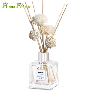 150ml Natural Reed Sticks Decorative Glass Bottle Reed Diffuser