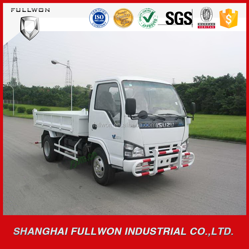 Brand New Japan 4X2 2 ton - 6 ton mini dump truck with Isuzu 4JB1 diesel engine for sale