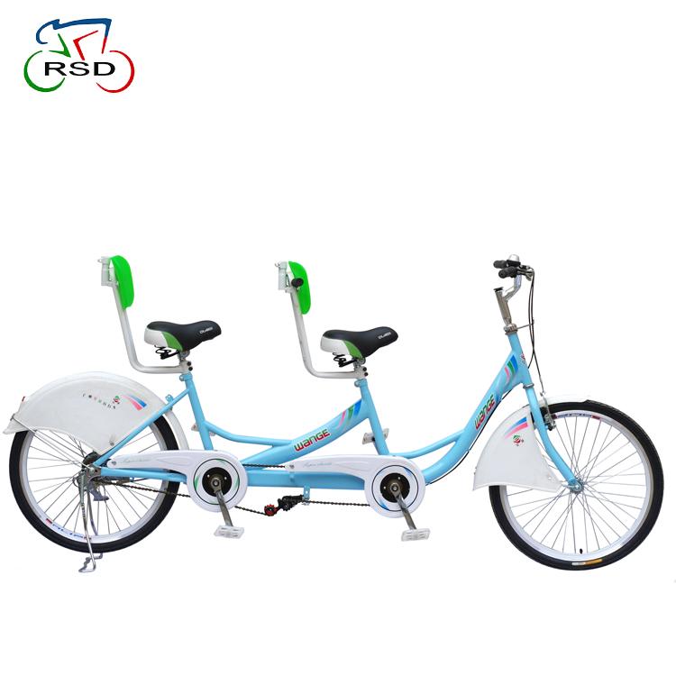 מפואר מושבים כפולים משמש סארי טנדם אופניים תלת אופן למבוגרים, מחיר זול YE-13