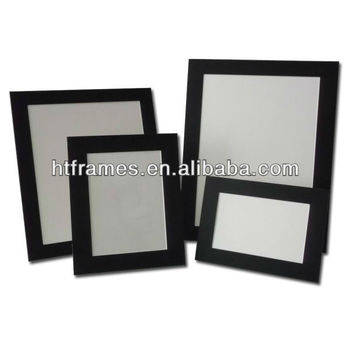 Newest Recycled Acid Free Black Paper Photo Frame 4x6 5x7 8x10 A4 ...