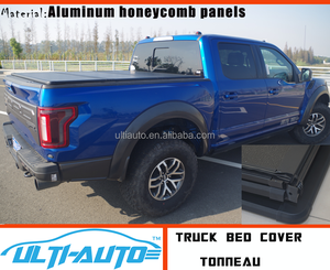 Aluminium Tri-Fold Hard Tonneau Bed Cover for Ford F-150 Raptor