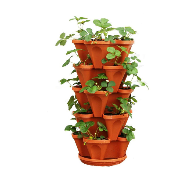 Hydroponic Growing Tower Planting Pots