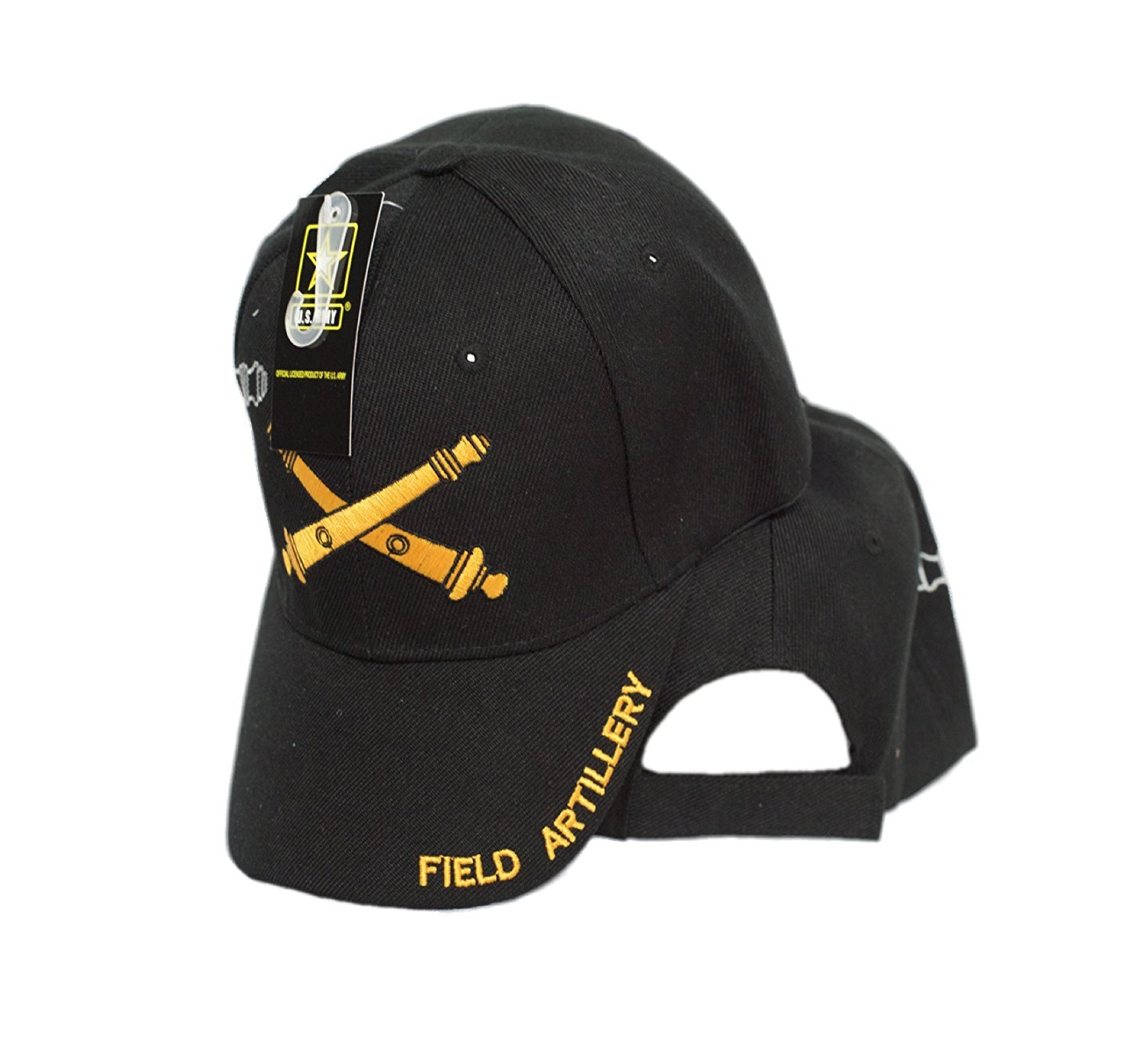 MWS Field Artillery Weapons Cannons Army Licensed Embroidered Cap Hat