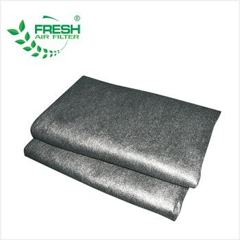 industrial activated carbon fabric filter cloth carbon active filter