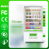 2017 Refrigerated Fruit and Vegetable Belt Conveyor elevator vending machine AF-D900-11G