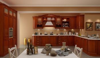 Prezzo Di Fabbrica Ciliegio Massello Di Lusso Design Del Mobile In Legno Da  Cucina - Buy Solido Armadio Da Cucina In Legno Design,Prezzo Di Fabbrica ...
