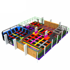 Big commercial kids adults indoor trampoline park for sale with foam pit ninja course