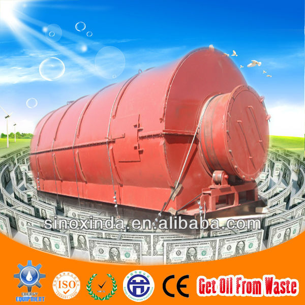 2014 new technical waste plastic diesel equipment