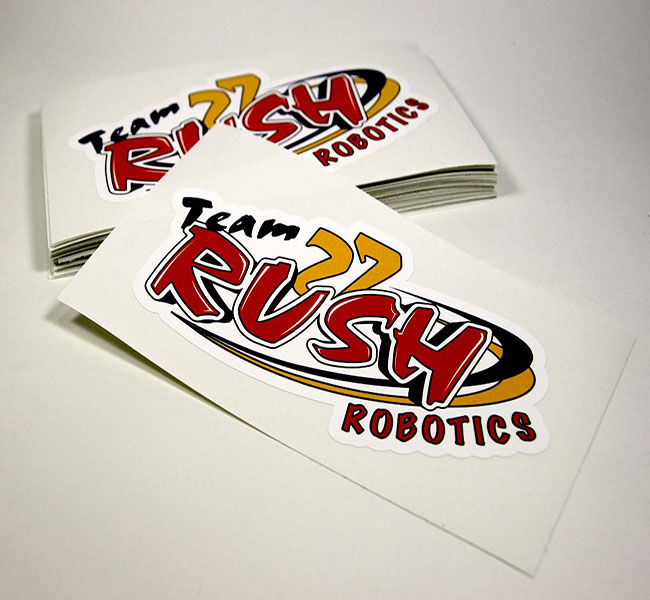 Custom design del vinile/die cut sticker/decal