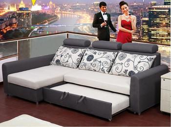 Hemat Ruang Lipat Sofa Bed Tarik Ke Bawah Tempat Tidur Menarik